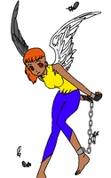 Ava, the demonic angel