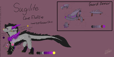 Sugilite : Finished Reference Sheet Commission by Milo-On-The-Moon