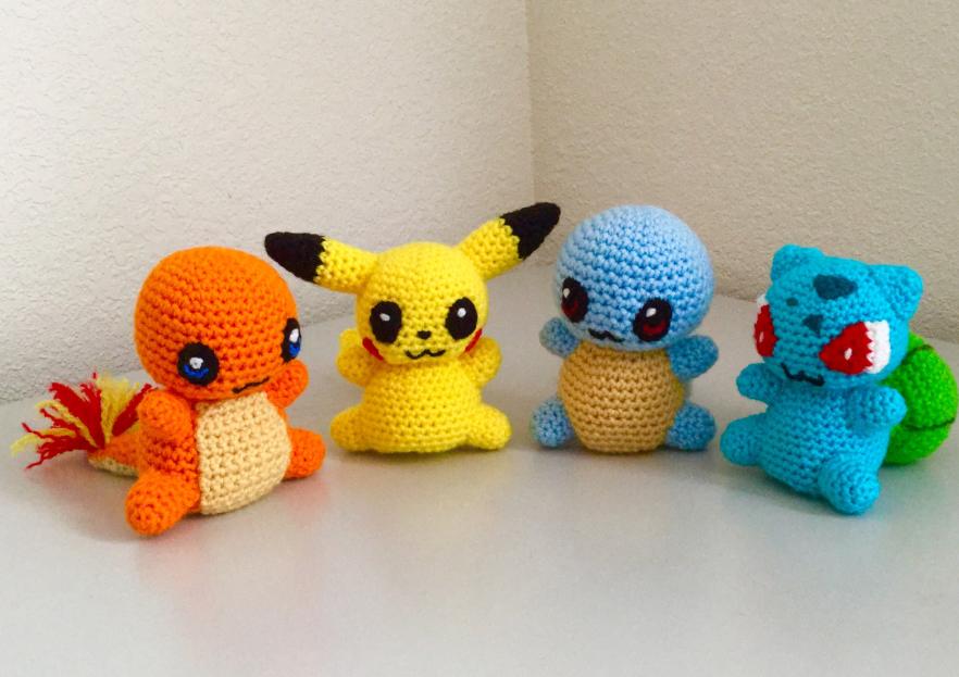 Pokemon Chibi Amigurumi Pattern : Poke chibi amigurumi set by JBcrochetwizard on DeviantArt