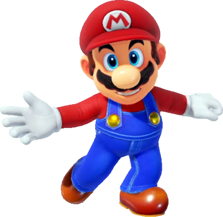 Super Mario Odyssey New Donk City To Steam Gardens Painting