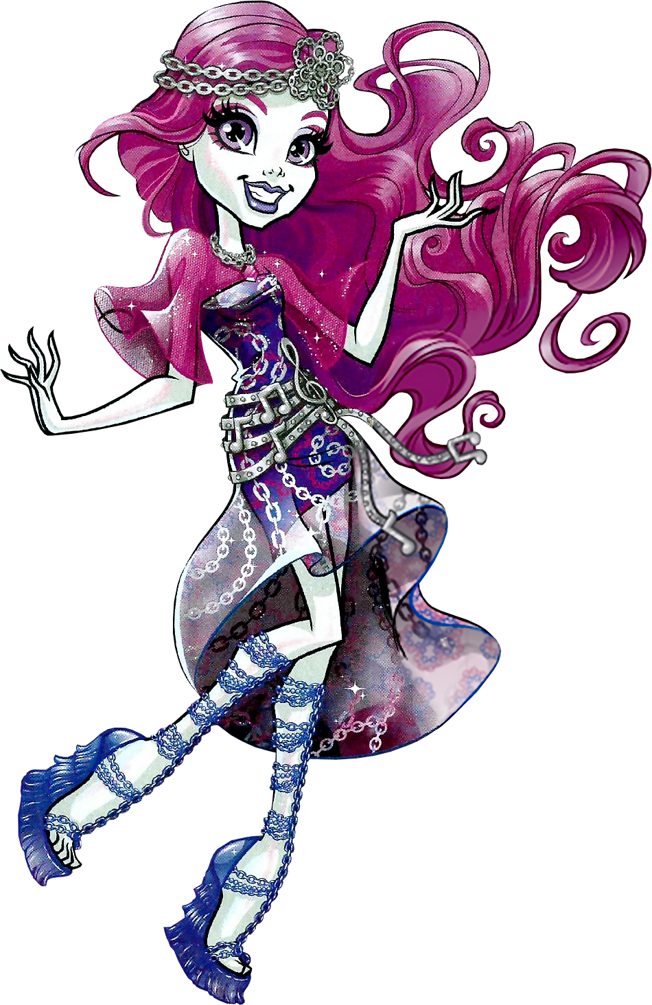Monster High New Ghoul At School Game Art Room