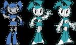 Evolution of Jenny Wakeman/XJ-9