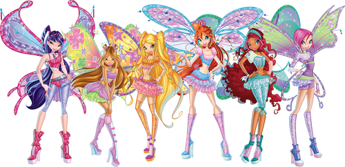 Winx Club - Believix (Nick Version) - Group Art