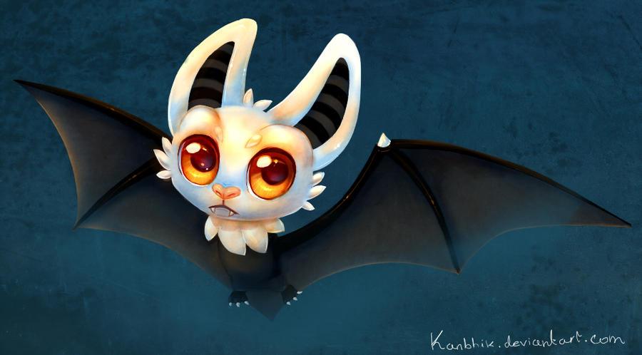 Night Bat by Kanbhik