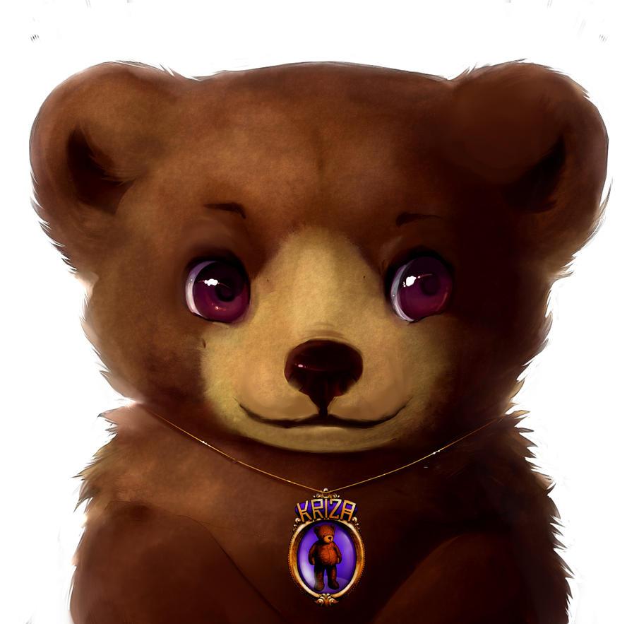 Teddy Bear comission by Kanbhik