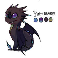 Baby Dragon - Auction by Kanbhik