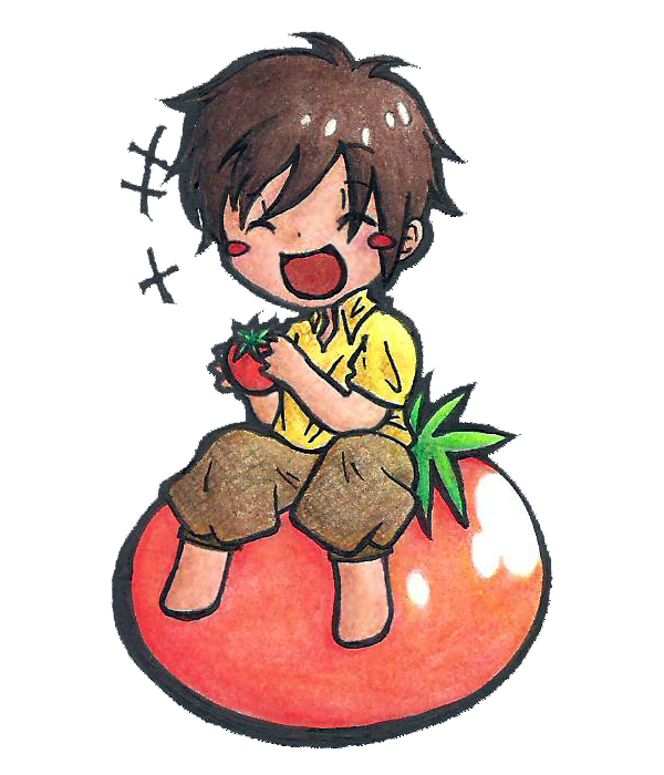 Tomato Boss by likecolourpencils