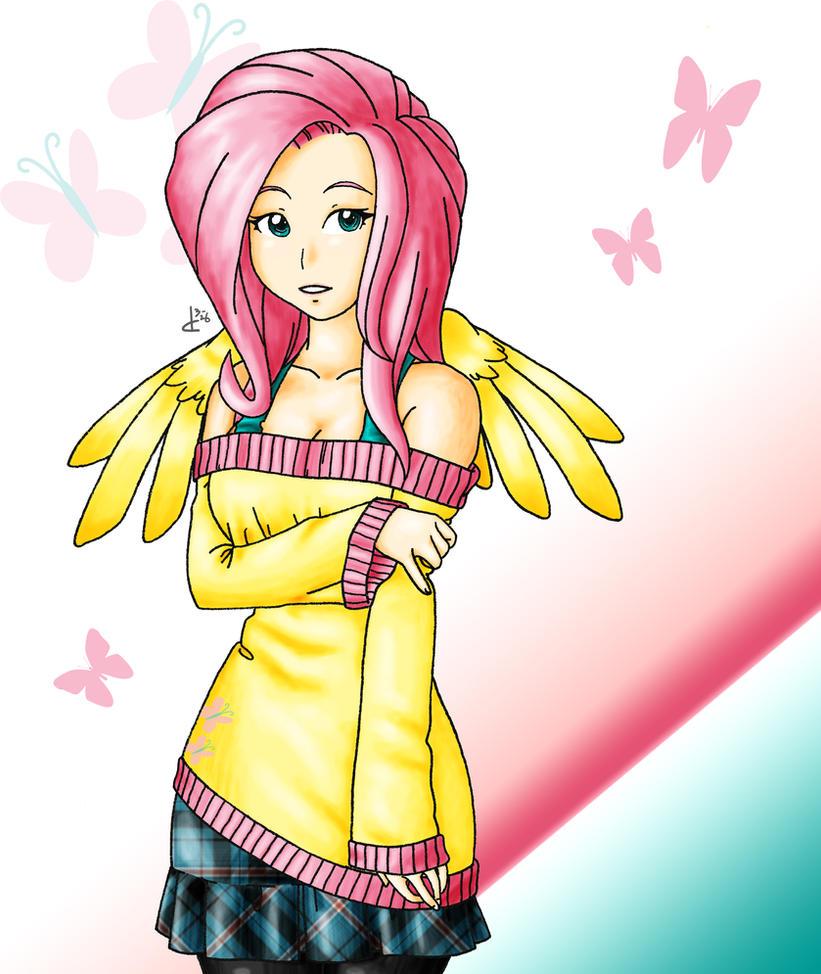 Fluttershy Human Form Rule 34 | www.pixshark.com - Images ...