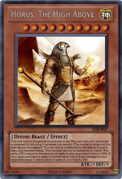 Yugioh Horus