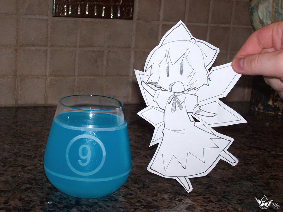 Cirno Awesome dot JPG by Oniika