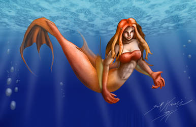 Mermaid Brianna by Raptor3k