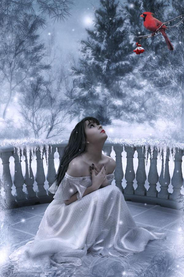 Winter romance by ArtbyValerie