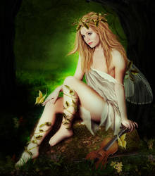 Forest fay by ArtbyValerie