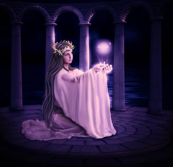 The-priestess by ArtbyValerie