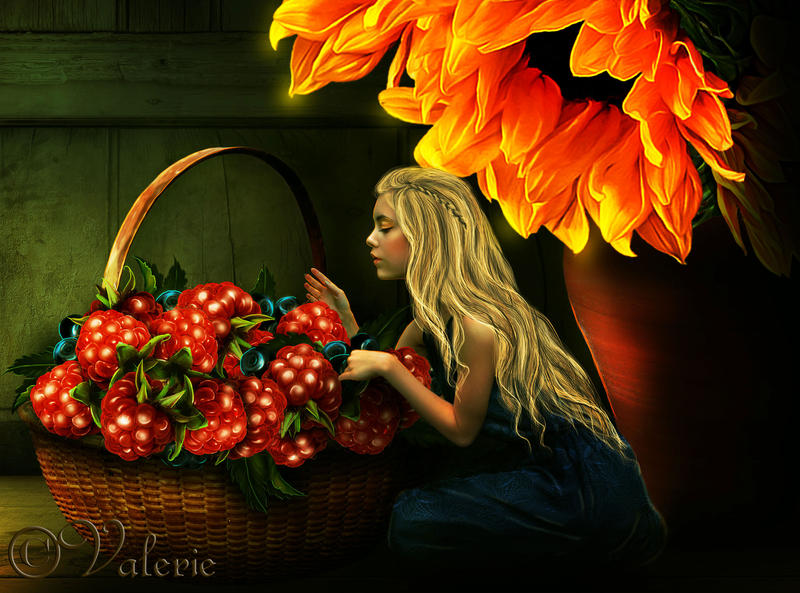 Taste-of-summer by ArtbyValerie