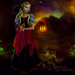 Red-apple by ArtbyValerie