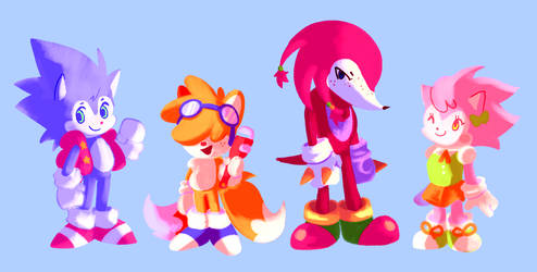 sonic redesigns