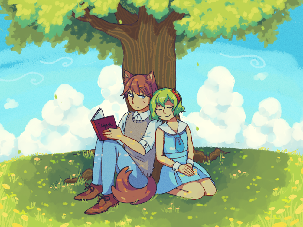 Quiet Afternoon by liyashi