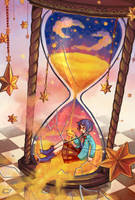 Fragile Timeglass by liyashi