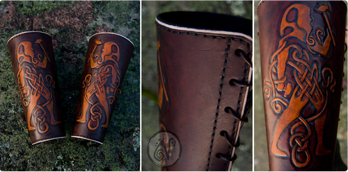Celtic Blacksmith's Bracers