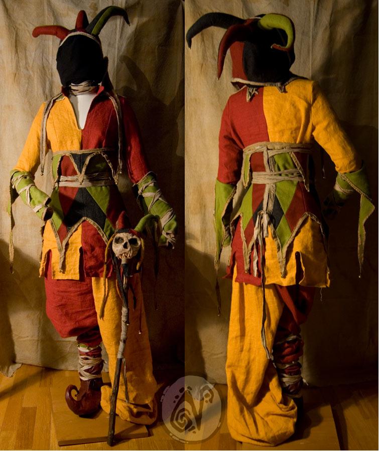 Jester costume moar by nymla on deviantart