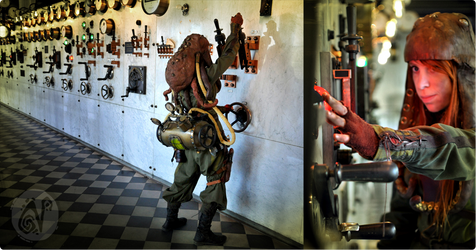 Steampunk Adventurer Costume #3 by Nymla