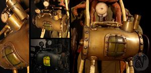 Aether Brass Tank