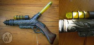 Steampunk Gun by Nymla