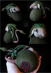 Meri the Nordic Forest Troll (available on Etsy)