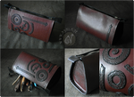 Steampunk Leather Bag (for sale on Etsy)