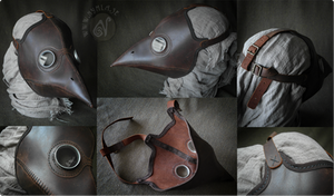 Classic Plague Doctor's Mask