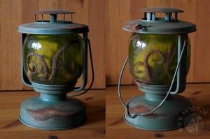 Steampunk Octopus Lantern
