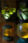 Steampunky Lanterns