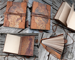 I like Rusty Books (Available on Etsy)
