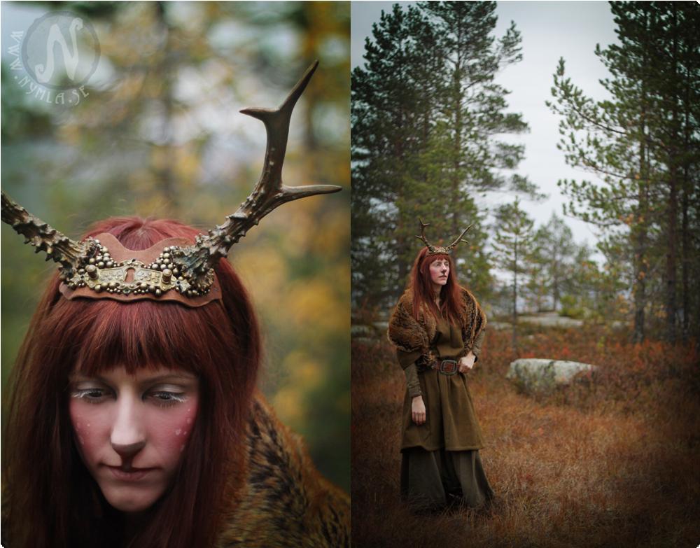 Elegant Deer Antlers #2 by Nymla
