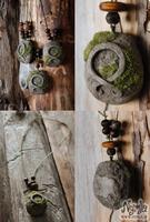 Trollkors (Troll Cross) Stone Pendant by Nymla