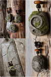 Trollkors (Troll Cross) Stone Pendant