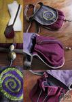 Wool Spiral Bag