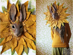 Sunflower Rabbit Mask