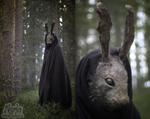 Creepy Rabbit Mask