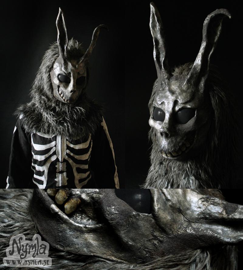 Donnie Darko Mask with Fur Hood by Nymla