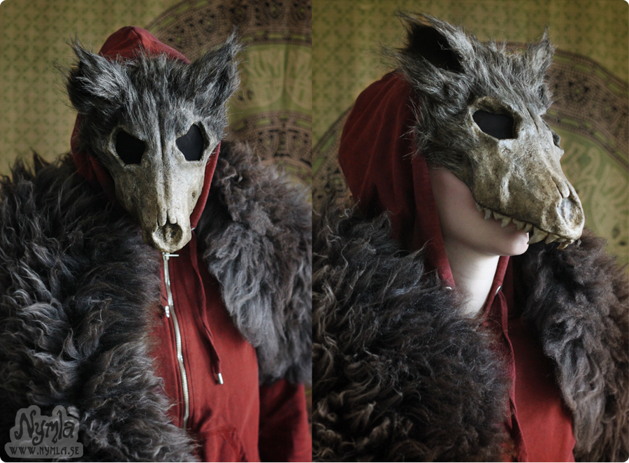 Red Ridinghood Wolf Mask #1 by Nymla on DeviantArt