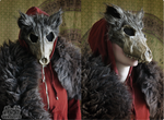 Red Ridinghood Wolf Mask #1