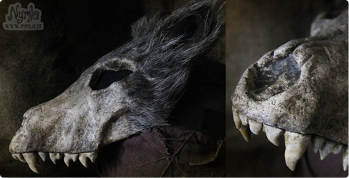 Red Ridinghood Wolf Mask #2