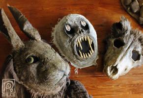 Wilderness Masks by Nymla