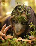 Mossy Mask n Mushrooms