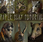 Paper Clay Tutorial UPDATED!