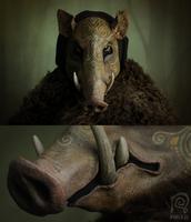 Boar Mask Spirit Animal #1 by Nymla