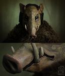 Boar Mask Spirit Animal #1