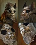 Wolf skull mask #2